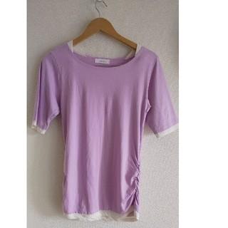 アンドイット(and it_)のand it_ Tシャツ 5分袖(Tシャツ(半袖/袖なし))