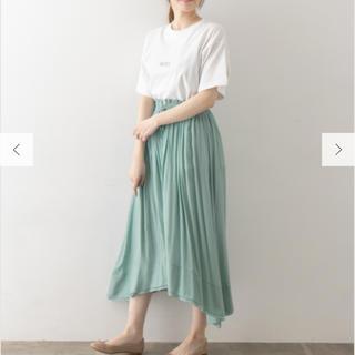 URBAN RESEARCH - 新品 ロングスカート ドレープ フレアスカート ギャザースカート ミモレ丈