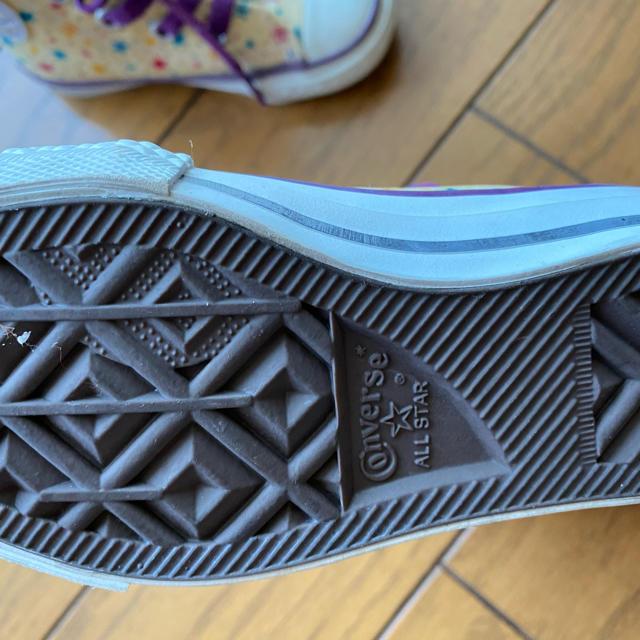 CONVERSE(コンバース)のコンバース スニーカー15cm キッズ/ベビー/マタニティのキッズ靴/シューズ(15cm~)(スニーカー)の商品写真