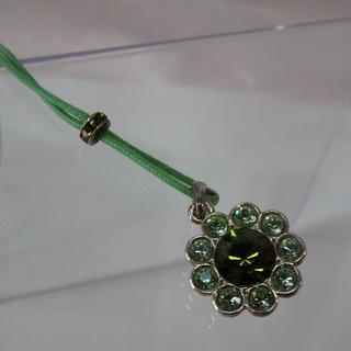 アガタ(AGATHA)のAGATHAの花のネックレス(ネックレス)