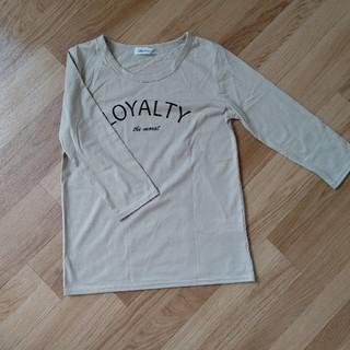 シマムラ(しまむら)のしまむら ロゴTシャツ(7分袖)(Tシャツ(長袖/七分))
