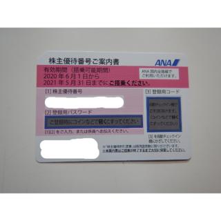 エーエヌエー(ゼンニッポンクウユ)(ANA(全日本空輸))のANA(全日空)株主優待券(航空券)