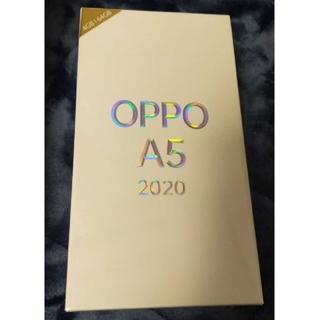 ANDROID - oppo a5 2020 ブルー SIMフリー スマートフォン