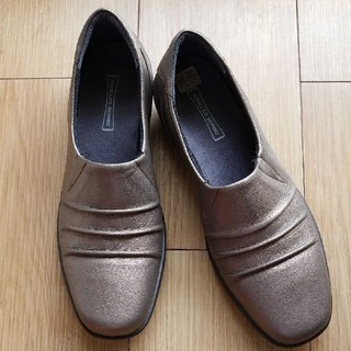 アキレス(Achilles)の未使用 achilles アキレスソルボ レザー シューズ 24(ローファー/革靴)