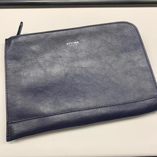 エース(ace.)のultima tokyo セカンドバッグ 紺(セカンドバッグ/クラッチバッグ)