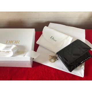 ディオール(Dior)のDior  ディオール  財布 サイフ エナメル(財布)