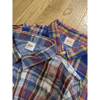 ガリャルダガランテ(GALLARDA GALANTE)のjena ジェナ ダブルガーゼ チェックシャツ 2枚セット(シャツ/ブラウス(長袖/七分))