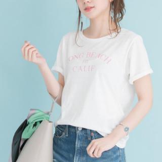URBAN RESEARCH - 新品 アーバンリサーチ ロゴ T  半袖 Tシャツ クルーネック 白 シンプル