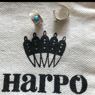アパルトモンドゥーズィエムクラス(L'Appartement DEUXIEME CLASSE)のHarpo アルポ 1個  イヤカフ ターコイズ スターリングシルバー 925(ピアス)