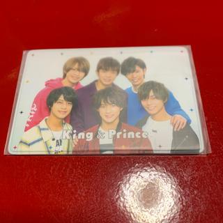 ジャニーズ(Johnny's)のKing&Prince 会員カードケース(男性アイドル)
