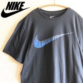 ナイキ(NIKE)の《NIKE》ナイキ BIGスウォッシュロゴ 半袖Tシャツ ヴィンテージ メンズ(Tシャツ/カットソー(半袖/袖なし))