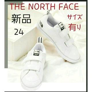 THE NORTH FACE - THE NORTH FACE ノースフェイス スニーカー ベルクロ 新品 24㎝