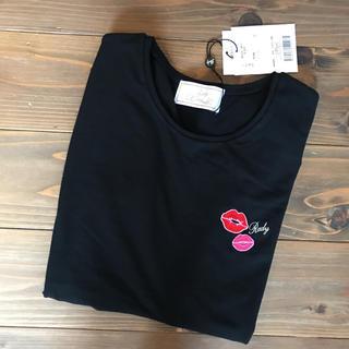 Rady - rady tシャツ 新品 黒 リップ