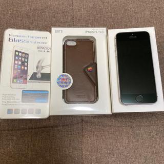 iPhone - 第一世代 iPhone SE 32 GB スペースグレイ SIMフリー 美品