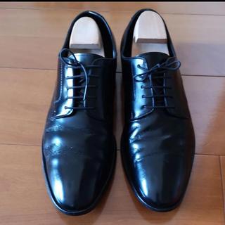 BURBERRY BLACK LABEL - バーバリー  革靴 黒