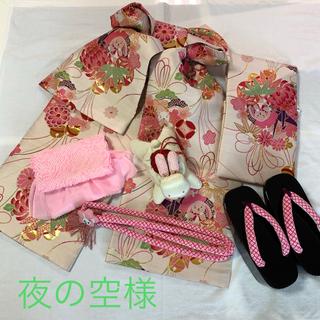 七五三 7歳女の子 帯、小物(和服/着物)