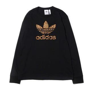 アディダス(adidas)のアディダス レオパードトレフォイル ロンT 2XL(Tシャツ/カットソー(七分/長袖))