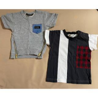 futafuta - フタフタ ブランシェス Tシャツ 80  2枚セット