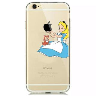 ディズニー(Disney)の不思議の国のアリス iPhone8 スマホケース 即購入可(iPhoneケース)