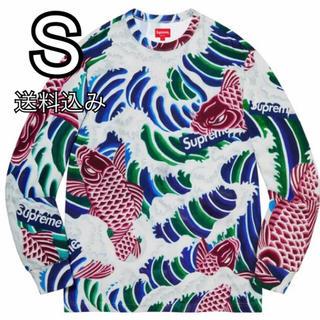 シュプリーム(Supreme)のS supreme Waves L/S Top Multicolor(Tシャツ/カットソー(七分/長袖))