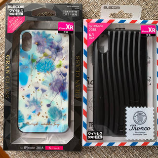ELECOM - iPhone XR♡スマホケース 2点セット