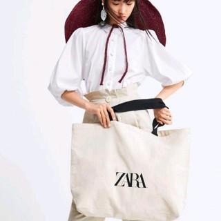 ZARA - ザラ トートバッグ ロゴ ZARA