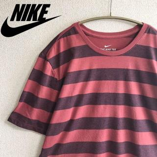ナイキ(NIKE)の《ナイキ》NIKE DRY-FIT ボーダー半袖Tシャツ ヴィンテージ メンズ(Tシャツ/カットソー(半袖/袖なし))