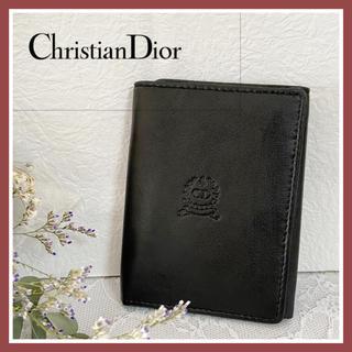 クリスチャンディオール(Christian Dior)のキャッシュレス仕様!美品Christian Dior 三折財布(長財布)