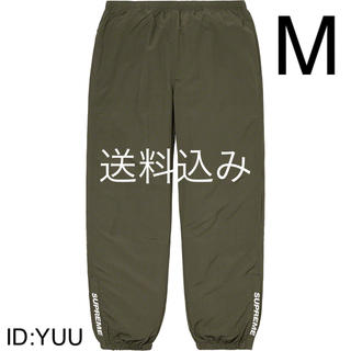 【M】SUPREME Warm Up Pant パンツ キムタク着 オリーブ