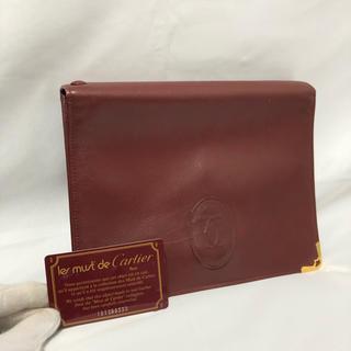 Cartier - ☆決算セール☆ Cartier カルティエ バッグ クラッチバッグ レディース