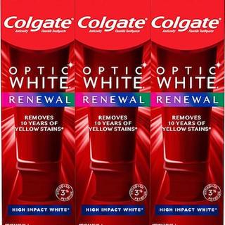 クレスト(Crest)の【3個セット】コルゲート オプティック ホワイト ハイインパクト ホワイト(歯磨き粉)