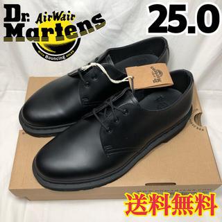 ドクターマーチン(Dr.Martens)の新品◉ドクターマーチン MONO ブラック 1461 3ホールギブソン 25.0(ドレス/ビジネス)