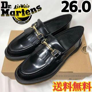 ドクターマーチン(Dr.Martens)の【新品】ドクターマーチン スナッフル ローファー ブラック 26.0(ドレス/ビジネス)