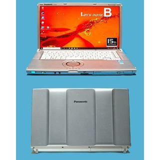 パナソニック(Panasonic)の美品超速 Let's note CF-B10 8G/SSD 525G/Win10(ノートPC)