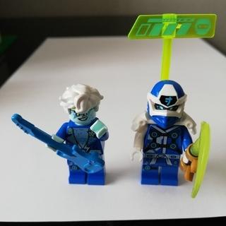 レゴ(Lego)のレゴ ニンジャゴー ジェイ ミニフィグ2体セット 武器付き(その他)