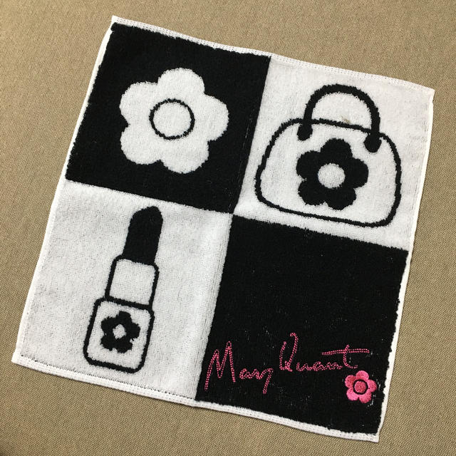 MARY QUANT(マリークワント)のマリークワント  タオルハンカチ  レディースのファッション小物(ハンカチ)の商品写真