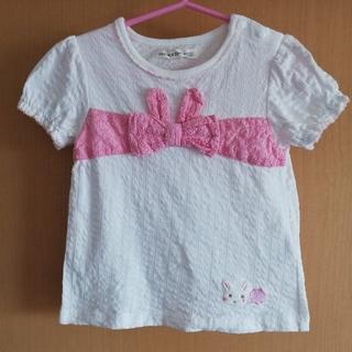 coeur a coeur - 商談中 クーラクール Tシャツ 白 100サイズ USED