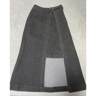 ローズバッド(ROSE BUD)のROSE BUD デザインデニムスカート(デニム/ジーンズ)