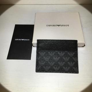 エンポリオアルマーニ(Emporio Armani)のENPORIOARMANI カードケース(名刺入れ/定期入れ)