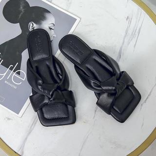 ZARA - レディース サンダル リボン 靴 夏 新品 未使用