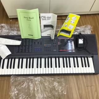 カシオ(CASIO)のCASIO 電子キーボード 電子ピアノ CTK-550(キーボード/シンセサイザー)