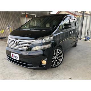 トヨタ - ヴェルファイア社外ナビ地デジ Bluetooth 社外サス社外20インチホイール