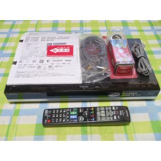 シャープ(SHARP)の2016年購入 HDD新品 AQUOS ブルーレイレコーダー BD-W580(ブルーレイレコーダー)