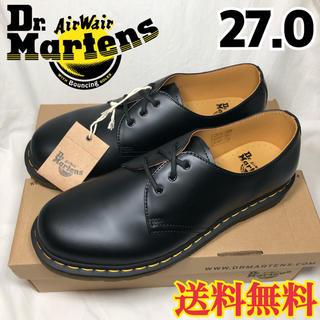 ドクターマーチン(Dr.Martens)の新品★ドクターマーチン 3ホール 1461 3アイ ギブソン ブラック 27.0(ドレス/ビジネス)