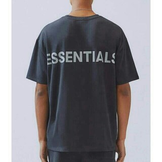 FEAR OF GOD - Fear Of God Essentials Boxy TShirt Black