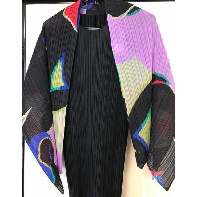PLEATS PLEASE ISSEY MIYAKE(プリーツプリーズイッセイミヤケ)のイッセイミヤケ 大判プリーツストール レディースのファッション小物(ストール/パシュミナ)の商品写真