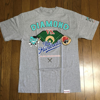 Diamond SUPPLY CO.×THE HUNDREDS コラボTEE(Tシャツ/カットソー(半袖/袖なし))