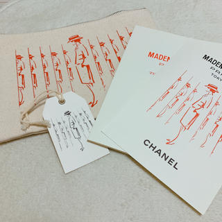 シャネル(CHANEL)のCHANEL マドモアゼルプリヴェ展 限定ポーチ ノベルティ パンフレット(ポーチ)