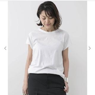 ドゥーズィエムクラス(DEUXIEME CLASSE)のDeuxieme Classeラグラン Tシャツ/ホワイト(Tシャツ(半袖/袖なし))