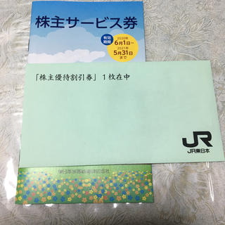JR東日本 株主優待券(鉄道乗車券)